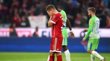 Kimmich lamenta el empate del Bayern ante el Wolfsburgo