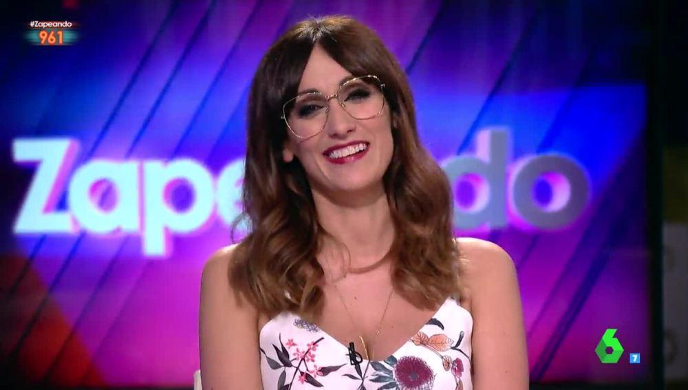 Ana Morgade, emocionada en Zapeando