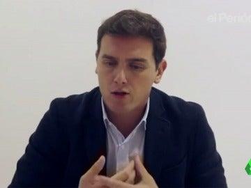 """Albert Rivera aboga por un Gobierno de concentración en Cataluña: """"Estoy dispuesto a pactar con Podemos, con el PSOE, el PP..."""""""