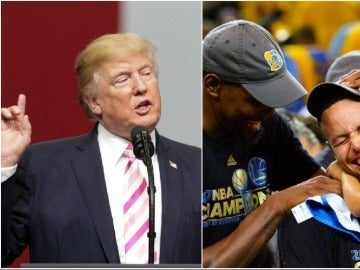 Donald Trump no invitará a los Warriors a la Casa Blanca
