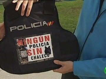 Los cuerpos de seguridad denuncian la escasez de chalecos antibalas