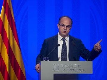 El portavoz del Gobierno de la Generalitat Jordi Turull