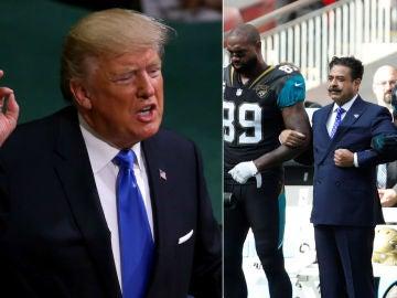 Donald Trump carga contra los jugadores de la NFL