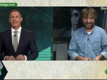 Hilario Pino y Jordi Évole
