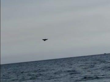 Un piloto muere tras estrellarse en el mar durante un espectáculo aéreo en Italia