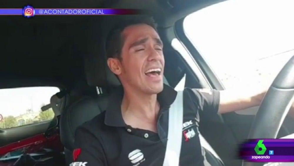 Alberto Contador en Zapeando
