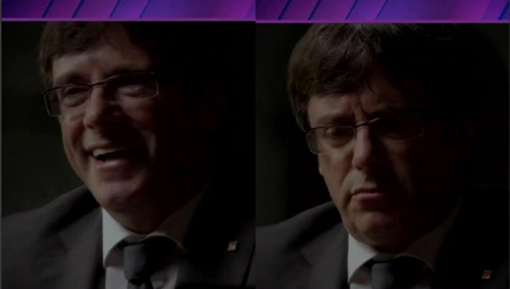 El antes y el después de Puigdemont en Salvados