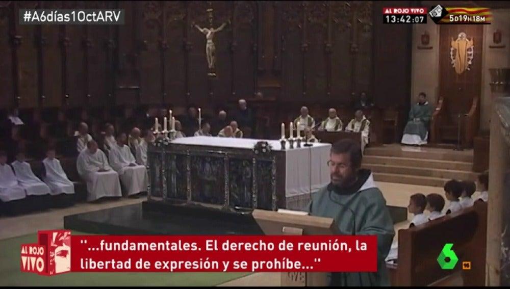 Sergi d'Assís Gelpí, monje de Montserrat