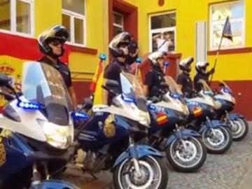Agentes de la Policía Nacional de Córdoba