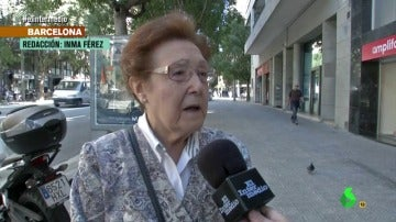 Una ciudadana catalana