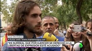 Lluís Montables, el joven que creó la página marianorajoy.cat
