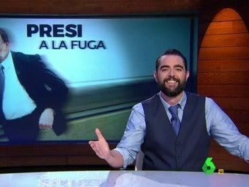 Dani Mateo presenta 'Presi a la fuga' en El Intermedio