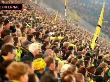 La locura del Signal Iduna Park: así se vive cada partido en el 'infernal' estadio del Dortmund