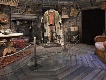 Casa de Hagrid, en la exposición de Harry Potter: The Exhibition