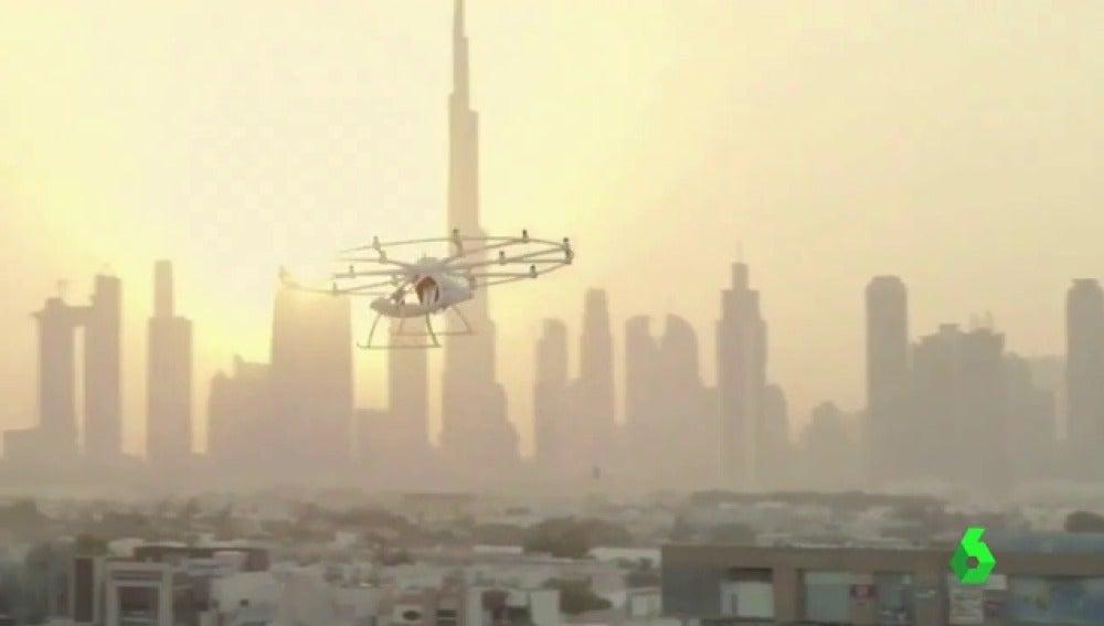 Dubai presenta un prototipo de taxi aéreo