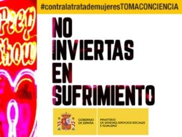 Imagen de la campaña del Ministerio de Sanidad