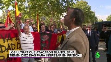 Los ultras que atacaron Blanquerna tienen diez días para ingresar en prisión