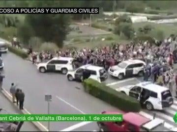 asedio policias