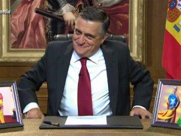 """El discurso de 'Wyoming I' sobre Puigdemont y Rajoy: """"Basta de sobreactuaciones y de cálculos electorales"""""""