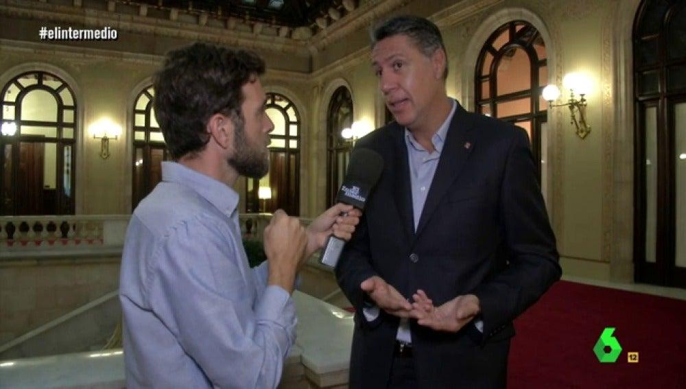 Gonzo con Xavier García Albiol