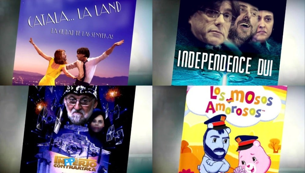 Las versiones de películas basadas en el procés catalán