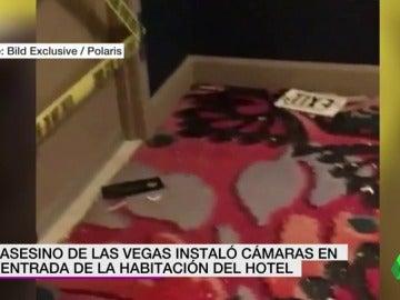 El asesino de Las Vegas colocó cámaras en la habitación