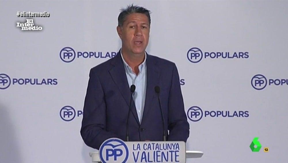 """""""O no"""", la expresión clave de Xavier García Albiol para analizar el desafío independentista en rueda de prensa"""