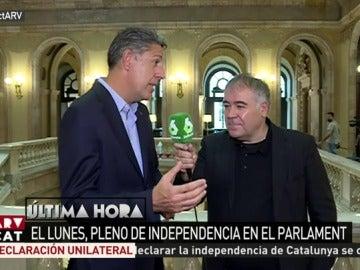 El líder del PP en Cataluña, Xavier García Albiol