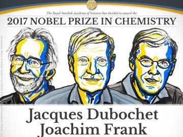 Los ganadores del Premio Nobel de Química 2017