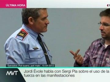 El comisario Sergi Pla en 'Salvados'