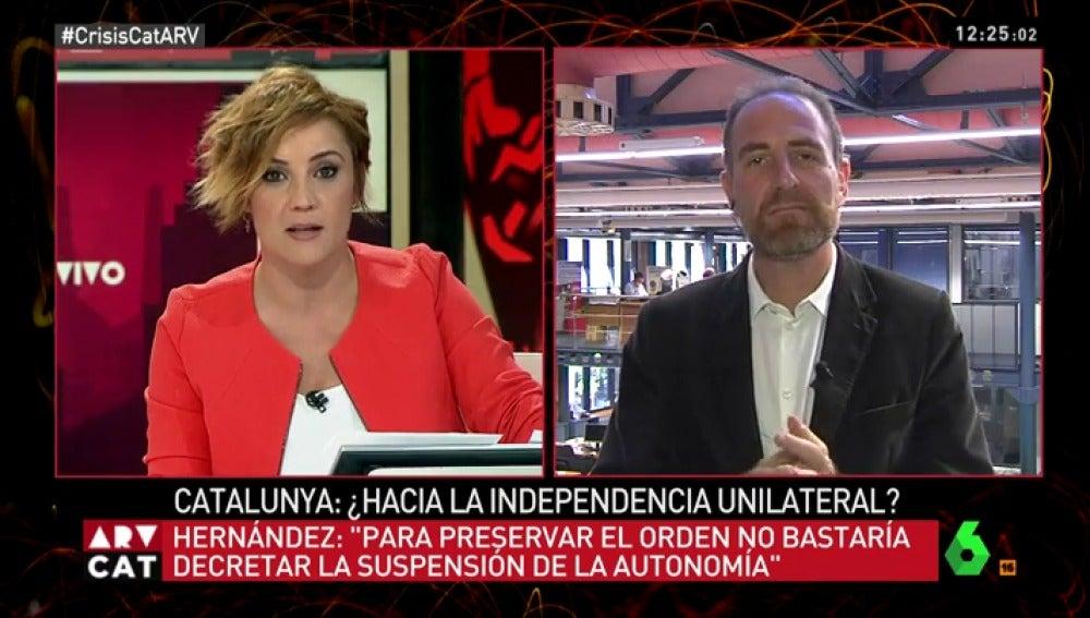 LA SEXTA TV   Temas de actualidad   Enric Hernández