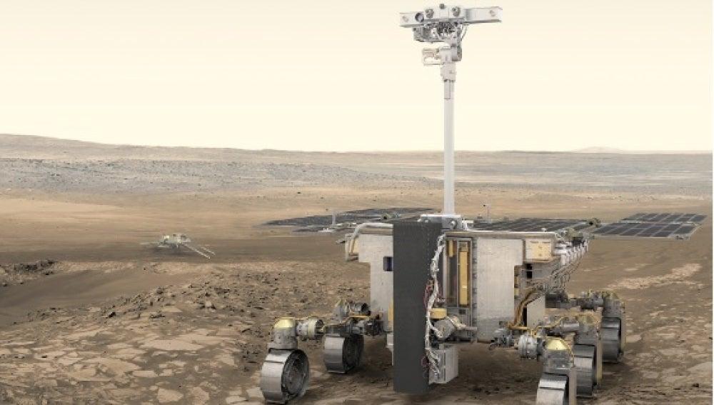 Recreación de un robot de exploración espacial
