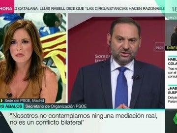 """José Luis Ábalos: """"Nosotros no contemplamos ninguna mediación real, no es un conflicto bilateral"""""""