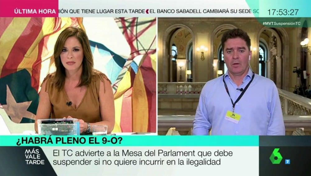 Carlos Quílez, periodista de 'Crónica Global'