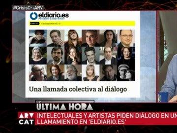 Llamada colectiva al diálogo