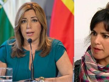 Susana Díaz y Teresa Rodríguez