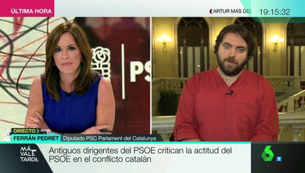 El diputado del PSC en el Parlament, Ferrán Pedret