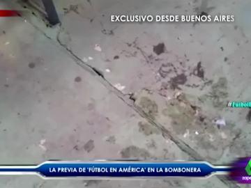 El impactante movimiento de los cimientos de La Bombonera