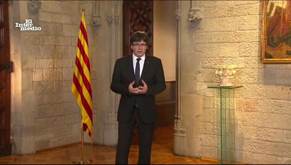 """""""Vamos a viajar hacia una tierra extraordinaria, cuyas fronteras son las de la imaginación"""", afirma Carles Puigdemont"""