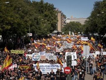 Manifestación a favor de la igualdad salarial de Policía y Guardia Civil