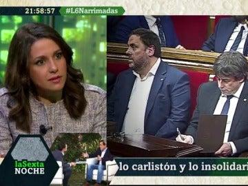 Inés Arrimadas, presidenta de Ciudadanos Cataluña