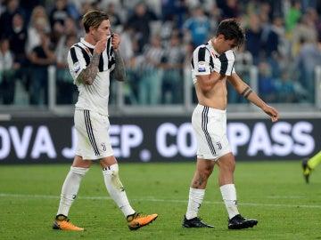 Dybala se lamenta de los tres puntos perdidos por la Juventus