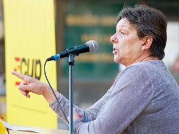 La diputada de la CUP en el Parlament de Catalunya Gabriela Serra