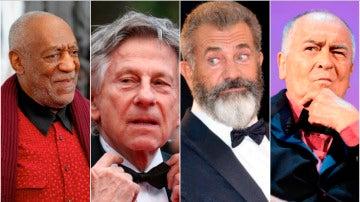 Bill Cosby, Roman Polanski, Mel Gibson y Bernardo Bertolucci