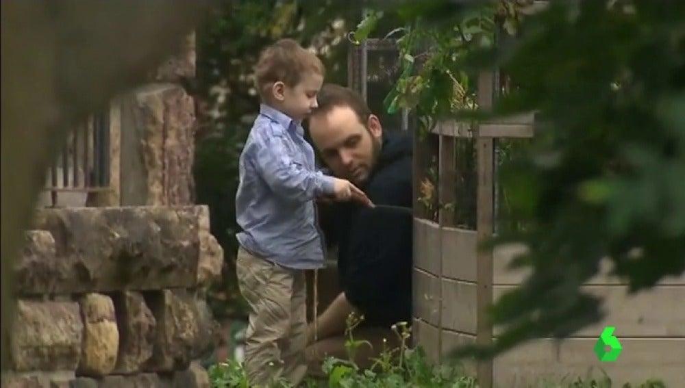 Joshua Boyle y su hijo Noah, secuestrados cinco años en Afganistán