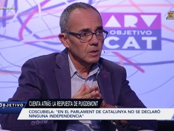 El portavoz de CSQP en el Parlament, Joan Coscubiela