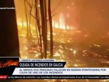 Siguen en alerta 2 a causa de los incendios