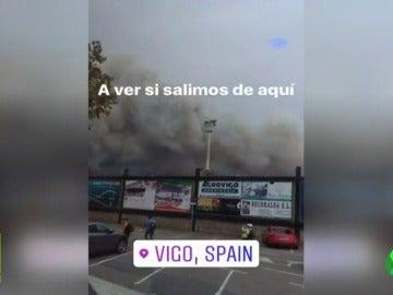 La odisea del Guijuelo para volver de Galicia por los incendios
