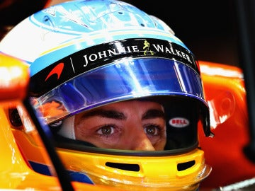Fernando Alonso, en el GP de Japón