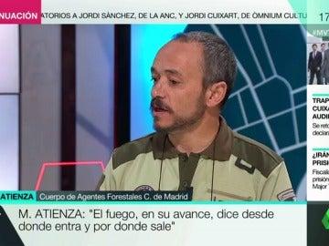 """Miguel Atienza, sobre los incendios en España: """"Una mayoría cuenta con la mano del hombre como causa"""""""